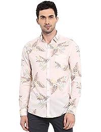Mufti Men's Printed Slim Fit Casual Shirt