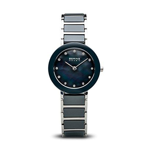 BERING Reloj Analógico para Mujer de Cuarzo con Correa en Acero Inoxidable 11429-787
