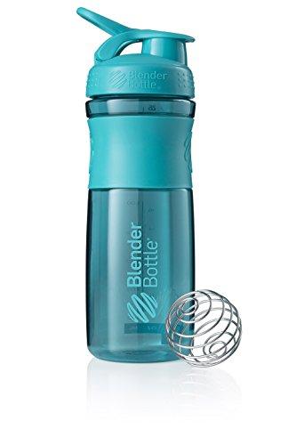 BlenderBottle Sportmixer Tritan Shaker | Protein Shaker| Wasserflasche| Fitness Shaker | BPA frei | mit BlenderBall | 820ml - teal