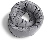 Huzi Infinity Pillow - Cuscino da viaggio - Cuscino per il collo - Dormire in aeroplano - Lavabile in lavatric