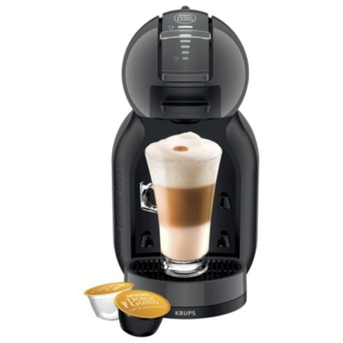 Krups Nescafe Dolce Gusto Coffee Machine, Kp120840, Black amp; Grey By Krups