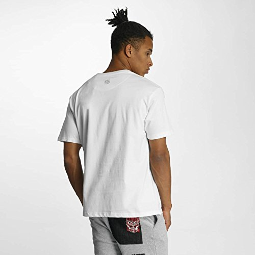 Dangerous DNGRS Uomo Maglieria/T-Shirt Headless Bianco