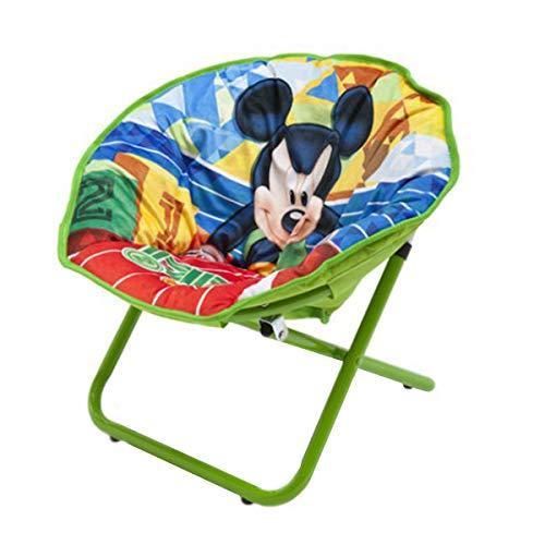 Delta Children\'s Products Disney Kinderstuhl Kinderhocker Hocker klappbar Cars Princess Minnie Mickey Camping , Variante:Mickey