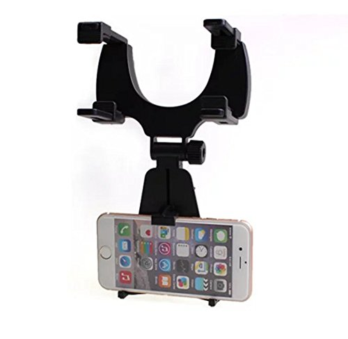 CAOLATOR Soporte móvil Espejo retrovisor Coche iPhone