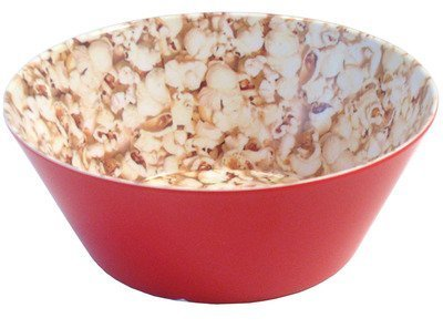 Present Time Popcorn Print Melamine Bowl, Small by Present Time