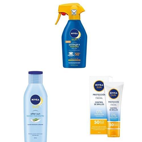 Lote Nivea Sun: Spray Solar Hidratante FP50 300 ml