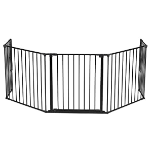 BabyDan Hearth Gate/Room Divider (Extra Large, 90-278cm, Anthracite)   13
