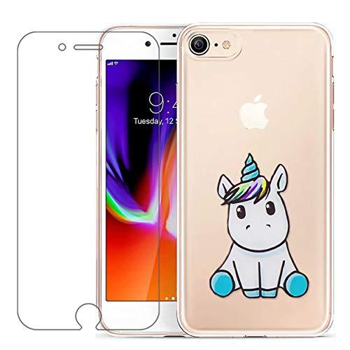 Laixin Funda iPhone 8 Plus/iPhone 7 Plus Transparente