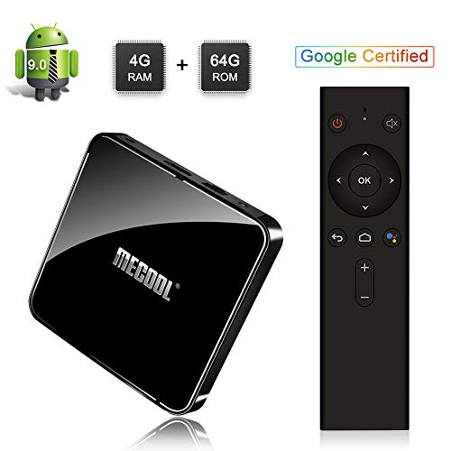 Sidiwen Mecool KM3 Android 9.0 TV Box Control Remoto