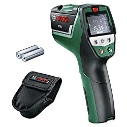 Bosch Infrared Thermometer PTD 1 (2x AA batteries, in protective bag)