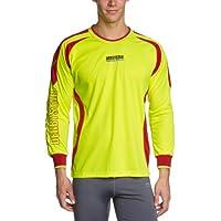 Derbystar Aponi - Camiseta de portero para hombre amarillo Neongelb/rot Talla:xx-