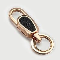 ysk Auto chiave della vita degli uomini catena legata a Multi-funzionale di fascia alta del pendente di chiave del telefono U disco ( colore : Oro )