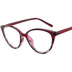 Gusspower 2019 Nuevo Gafas de sol Unisex Vintage, Multicolor Gafas de playa de viaje para Mujeres hombres Retro diseño diseñado espejo plano