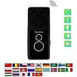 Smart Sprachübersetzer Kabelloses Bluetooth Wifi Zwei-Wege 22 Sprachen Echtzeit HiFi Übersetzer Gerät Für Reisen, Lernen, Business