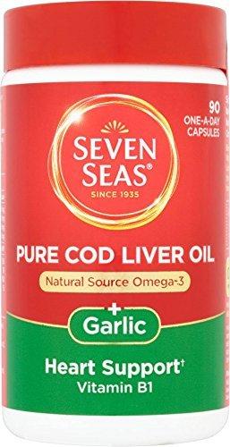 Seven Seas - Cod Liver Oil And Garlic - 90 Caps by Seven Seas
