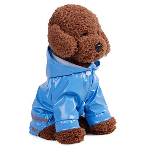EUZeo Wasserdichte Puppy Dogs Cats Kitten Jacke Outdoor-Mantel Haustierkleidung Wasser und Winddicht Hündchen Kätzchen Hundebekleidung Kleine Katze Hund Sweatshirts
