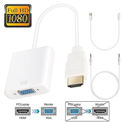HDMI zu VGA 1080P Active HDTV HDMI zu VGA Konverter