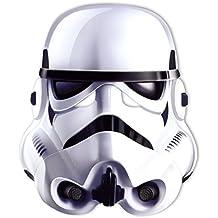 Máscara De Cartón Para Fiestas Star Wars - Stormtrooper