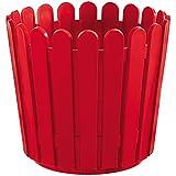 Emsa 512685 - Maceta (circular), color rojo