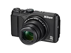 Nikon Coolpix S9900 16MP Point And Shoot Digital Camera (Black) with 30x Optical Zoom