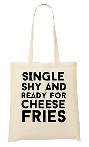 C+P Single Shy Ready Cheese Fries Tragetasche Einkaufstasche (Tv-netflix-ready)