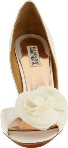 Badgley Mischka Randall Textile Sandale White
