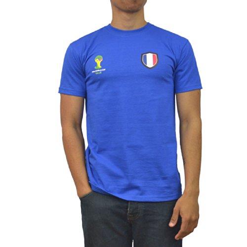 GB Sports FIFA World Cup 2014 t-Shirt aux Couleurs de la France