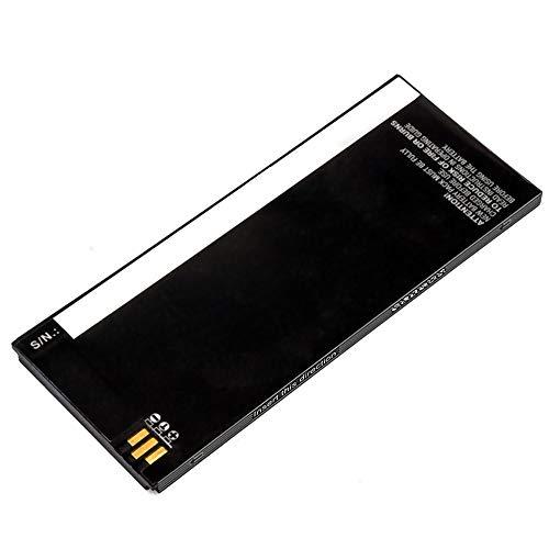 subtel® Qualitäts Akku kompatibel mit Cisco 8800-74-102376-01,CP-BATT-8821 (1700mAh) Ersatzakku Batterie Cisco Cp-batt