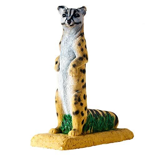 stehende Ginsterkatze 3D-Tier von Wildlife, Ziele zum Bogenschießen, Targets, Bogensport (Tier-ziele)