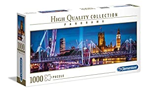 Clementoni Collection Puzzle panorama-london-1000 Unidades, Multicolor, 39485