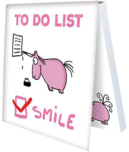 Klebezettel Notizzettel Sei ein Einhorn (To Do List - Smile)