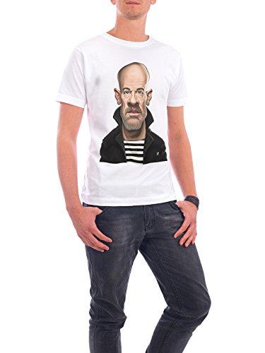 """Design T-Shirt Männer Continental Cotton """"Michael Stipe"""" - stylisches Shirt Musik von Rob Snow Weiß"""