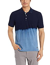 Park Avenue Mens T-Shirt (8907254024245_PCKB00464-B8_39_Dark Blue)