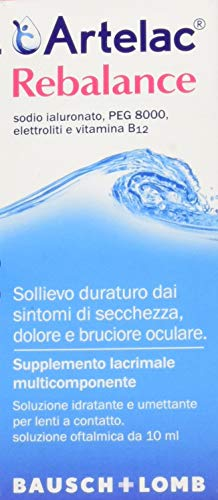Artelac Rebalance Augentropfen, 1er Pack (1 x 10 ml) -