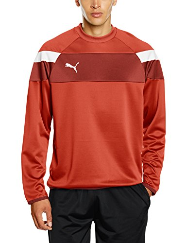 PUMA Herren Sweatshirt Spirit II Training Sweat Mantel red/White, 3XL