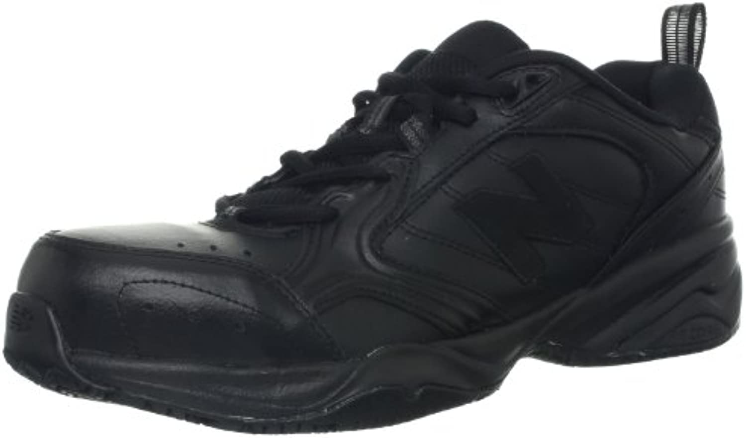 New Balance Men's MID627 Steel-Toe Work Shoe,Black,7.5 4E US