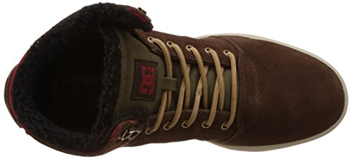 DC Shoes Crisis High WNT, Sneakers Hautes Homme Marron (Chocolate/Green)