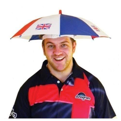 Great British Street Party Großbritannien Union Jack Regenschirm Hut