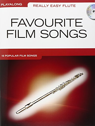 Really Easy Flute Playalong Favourite Film Songs Book + Cd