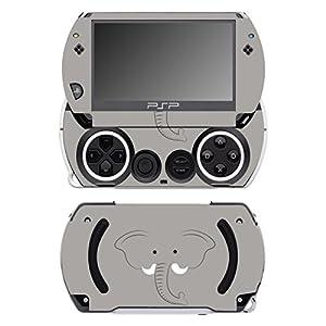 Disagu SF-14232_1027 Design Folie für Sony PSP Go – Motiv Elefantengesicht transparent