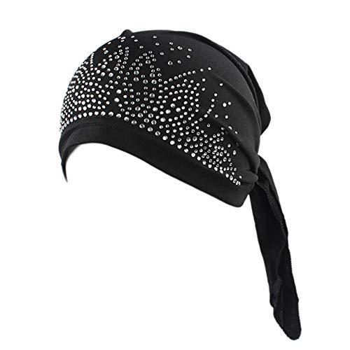 Turbantes Kopftuch für Damen, Satin, für Angeln, Piratenhut A