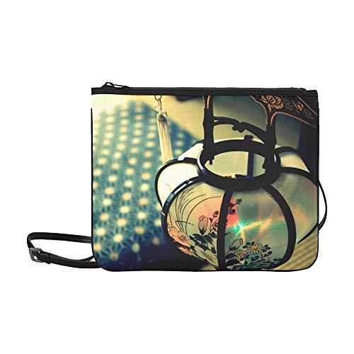 AGIRL Bon Festival Laterne Kundenspezifische, hochwertige Nylon-dünne Clutch-Tasche Umhängetasche mit Umhängetasche - Nylon-laternen Japanisch