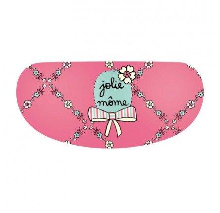 Derriere la Porte - Brillenetui - rosa - Etui à lunettes BESICLE Jolie môme - rose