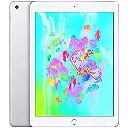 Apple iPad (Wi‑Fi, 32Go) - Argent (Dernier Modèle)