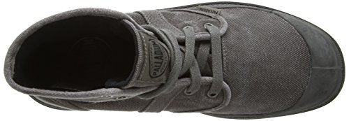 Palladium PALLABROUSE 02477-268-M, Chaussures basses homme Gris/Noir