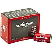 Surefire Batterien 123A - Batería para herramienta eléctrica, color rojo, talla 3.3x1.5x1.5 cm