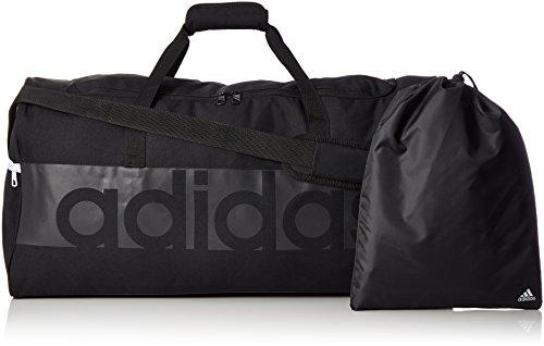 adidas Unisex Tiro Linear L Team-Tasche Black/Dark Grey