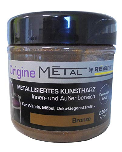 Resinence 250ml, Origine-Metall Bronze seidenglänzend, Innen-und Aussenbereich