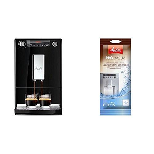 Melitta Caffeo Solo E950-101 Schlanker Kaffeevollautomat mit Vorbrühfunktion/15...