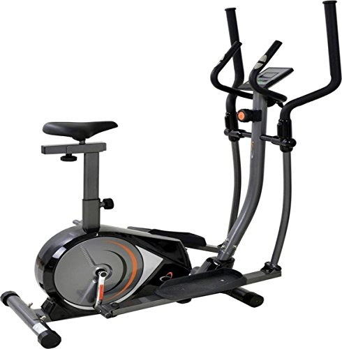 Popular Best Selling 2 in 1 Exercise Bike And Cross Trainer With LCD Monitor Home Cardio Fitness Workout r.r.p £300